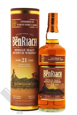 BenRiach 21 years Tawny Port Cask Finish