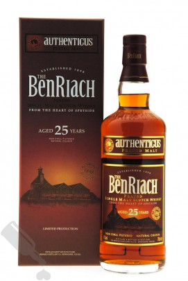 BenRiach 25 years Authenticus - Peated