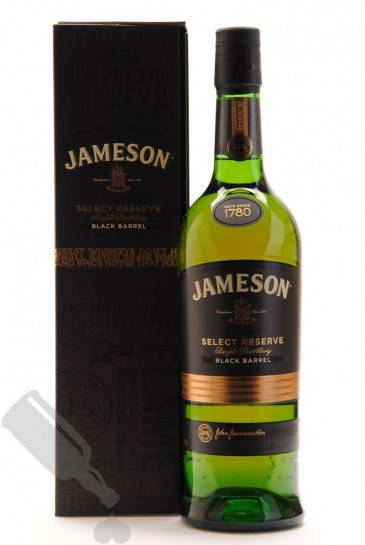 jameson select reserve black barrel passion for whisky. Black Bedroom Furniture Sets. Home Design Ideas