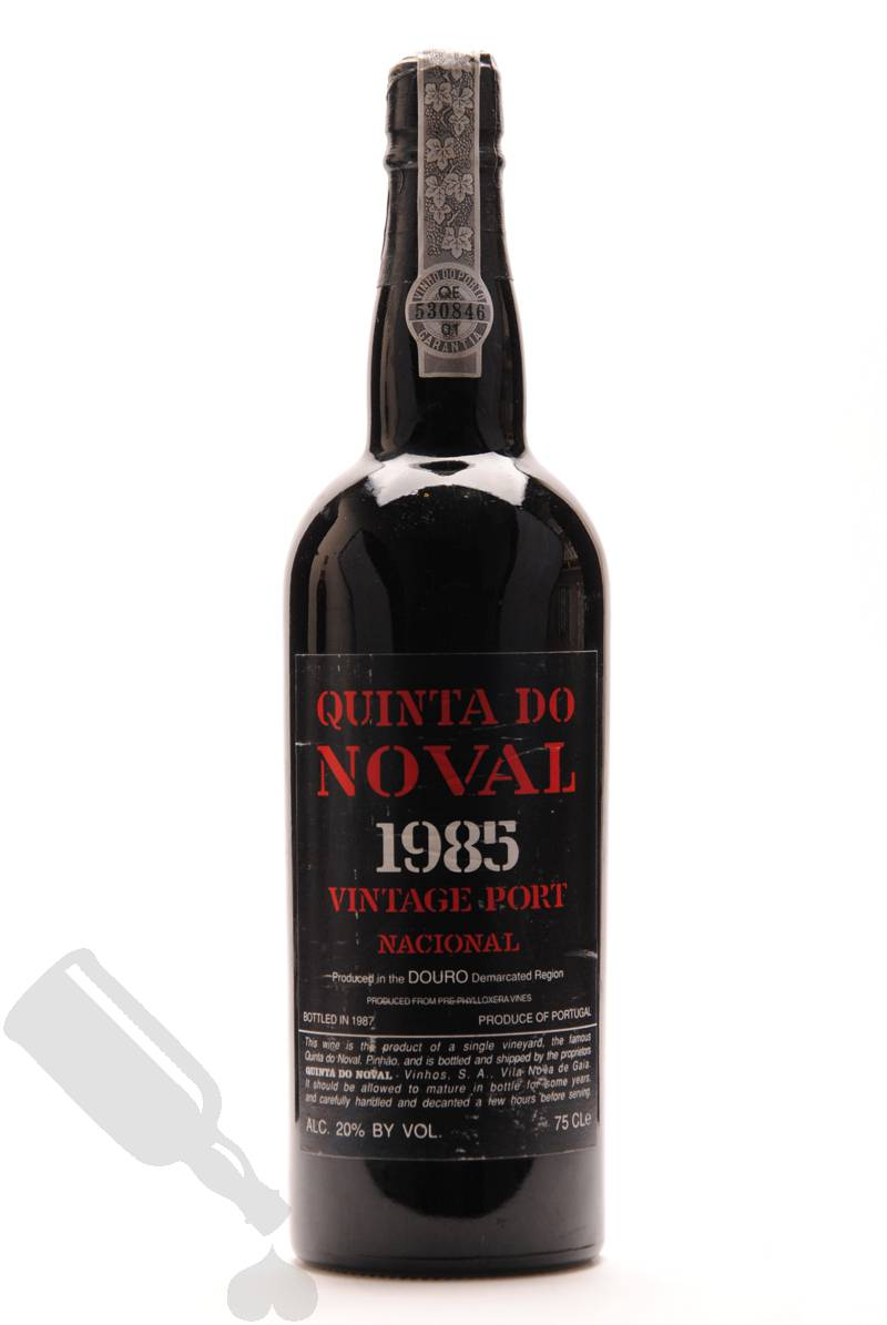 Quinta do noval 1985 vintage port