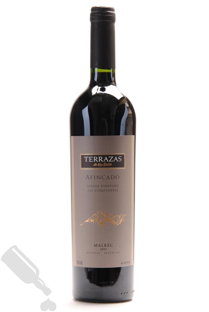 Terrazas De Los Andes Afincado Single Vineyard Las Compuertas Malbec Order Online Passion For Whisky